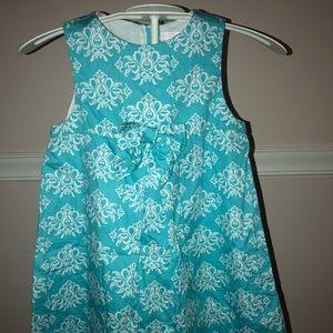 Janie and Jack size 3 blue dress